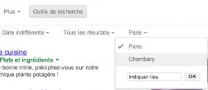 Géolocaliser ses recherches sur Google